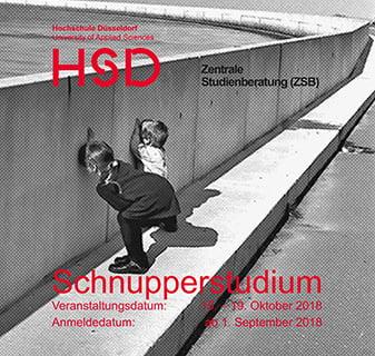 Schnupperstudium der Hochschule Düsseldorf